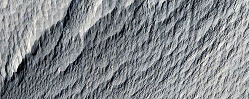 Depressions near Mariner 9 Image DAS 6751223
