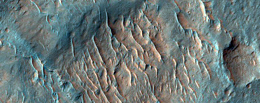 Pitted Mounds in Aurorae Chaos