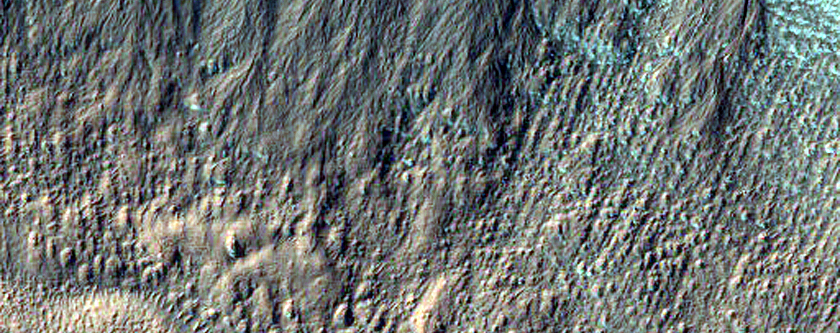 Gully Monitoring in Dunkassa Crater