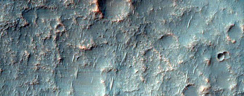 Possible Phyllosilicates and Chloride-Rich Terrain in Terra Sirenum
