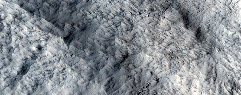 Large Landslide near Kasei Valles