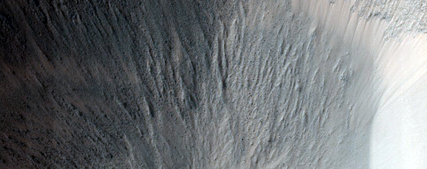 Monitor Garni Crater after 2018 Dust Storm