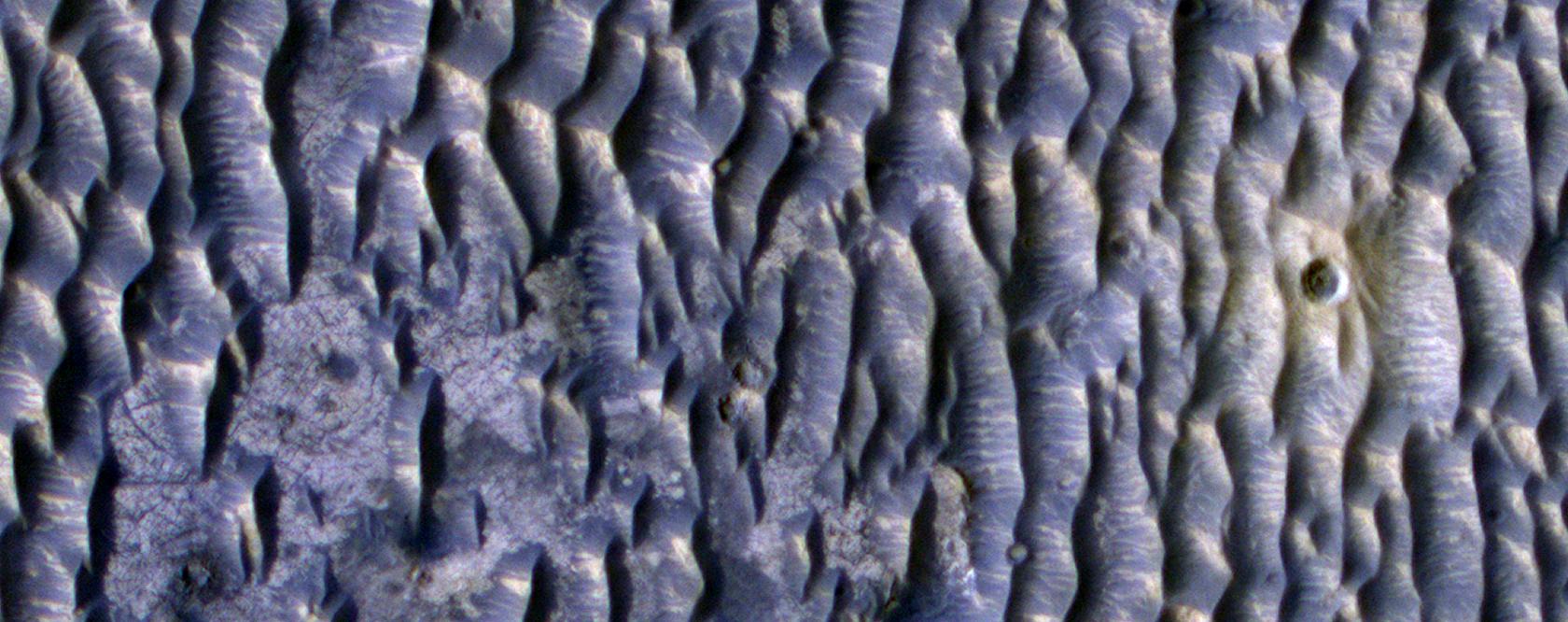 Southeast Edge of Hematite-Rich Terrain