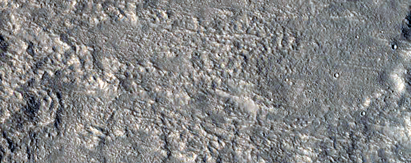 Eastern Discontinuous Ejecta and Rays of Tomini Crater
