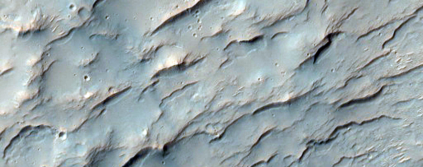Possible Sulfate and Clay-Rich Terrain