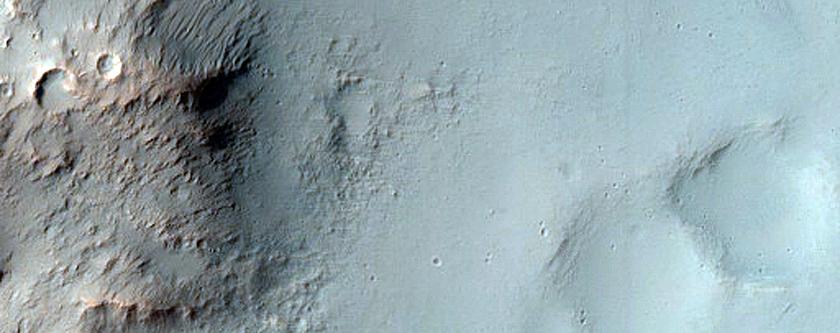 Possible Sedimentary Clay Deposit