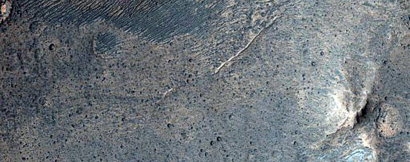 Transect along Baetis Chasma