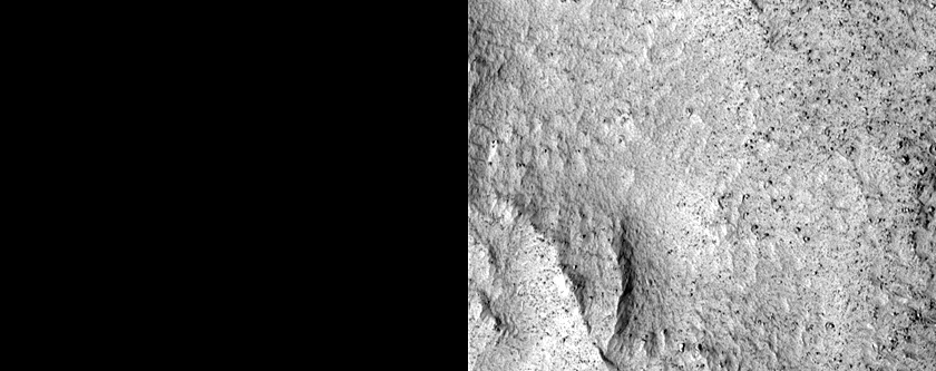 Impact Crater with Flow Ejecta
