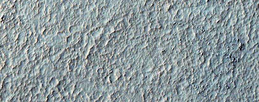 Terrain West of Hellas Planitia