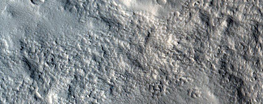 Mareotis Fossae Remnant Mound