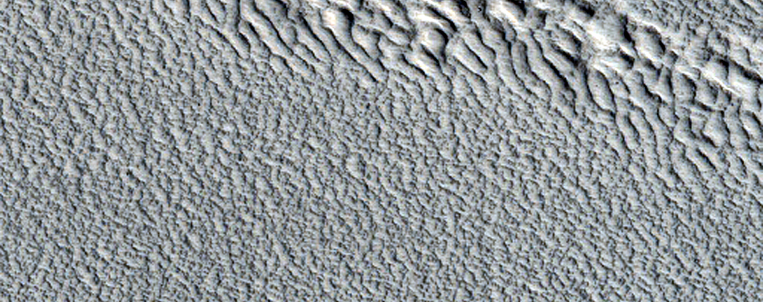 Smooth Area in Phlegra Montes
