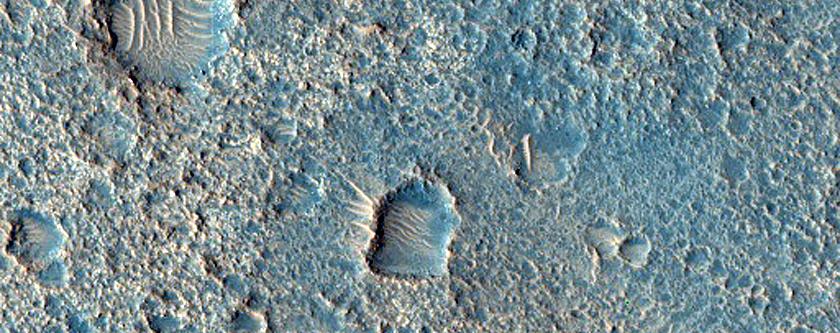 Bedrock in Ares Vallis