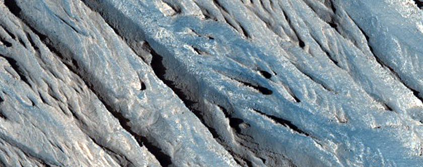 Central Tithonium Chasma