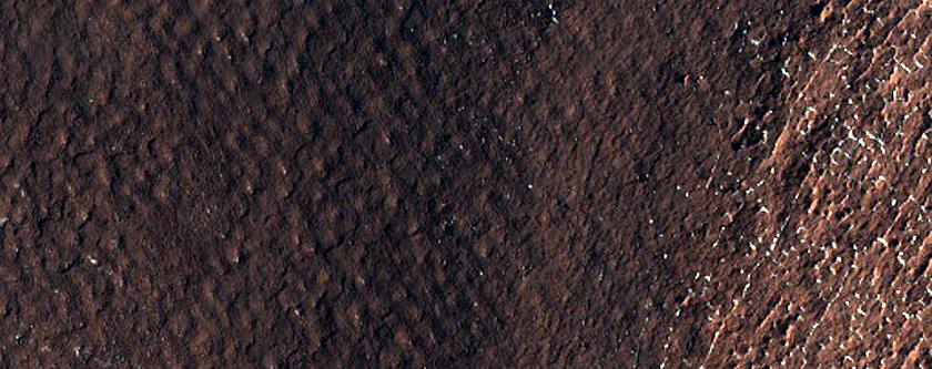 Crater Wall Layering