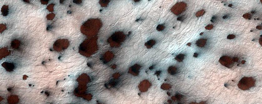 Cryptic Terrain Margin Monitoring in Main Crater