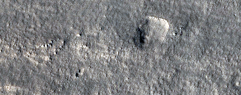 Terrain Northwest of Alba Patera