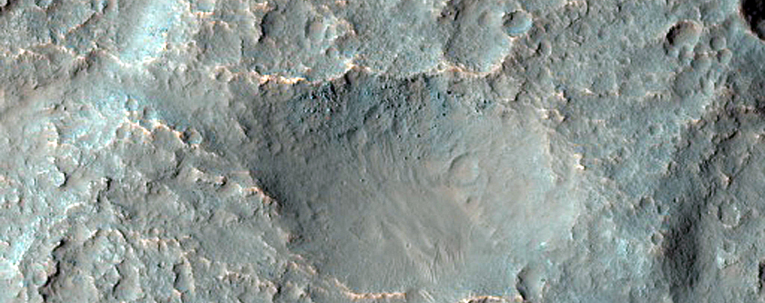 Terrain Sample in Osuga Valles