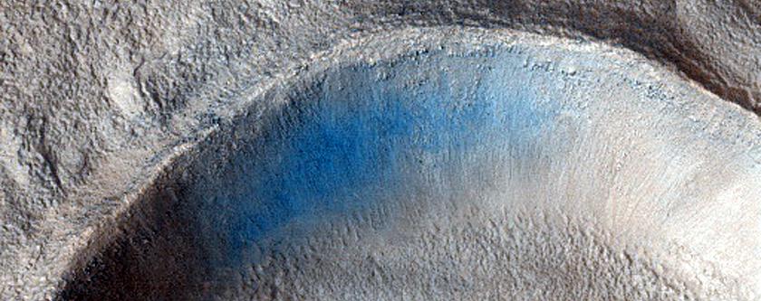 An Impact Crater Cluster in Utopia Planitia