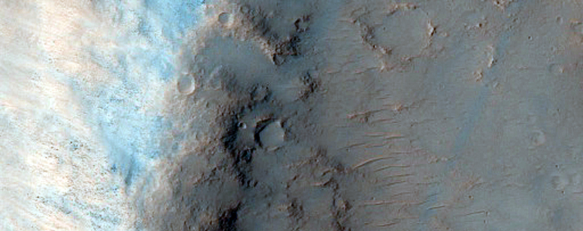 Highly Oblique Impact Site