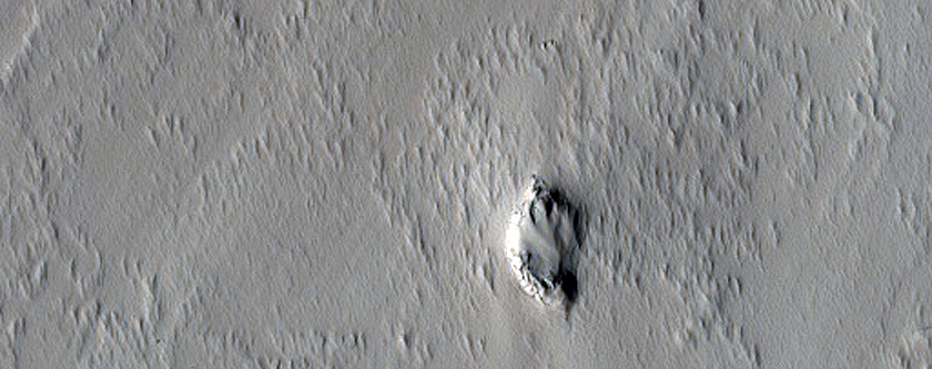 Small Cone East of Pavonis Mons
