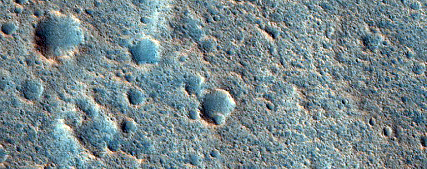 Fractures in Chryse Planitia