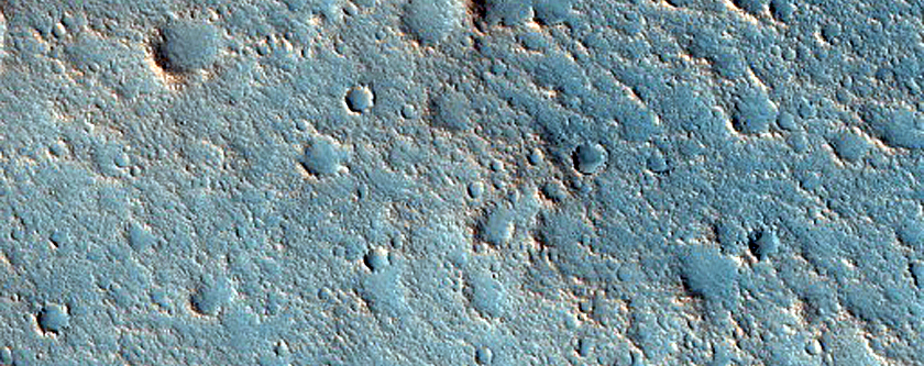 Flow-Like Feature within Chryse Planitia