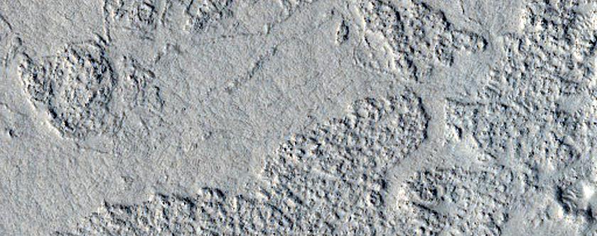 Streamlined Feature in Marte Vallis