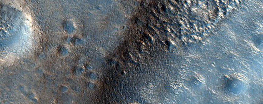 Eastern Edge of Icaria Planum