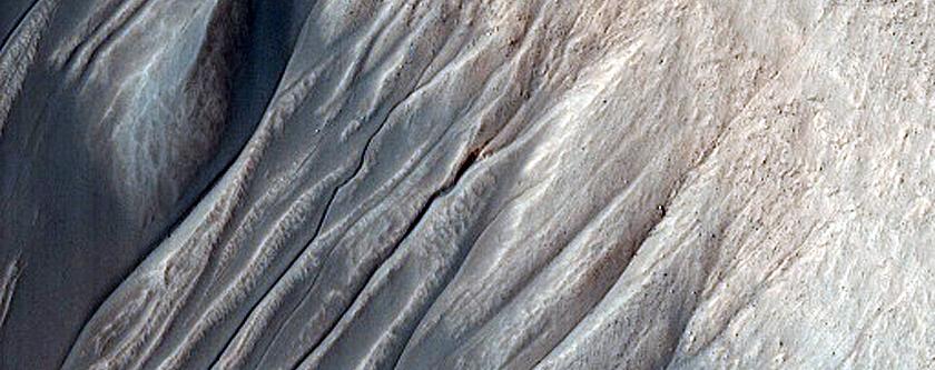Monitoring Gullies at Avire Crater