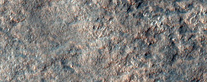 Crater Ejecta in Promethei Terra