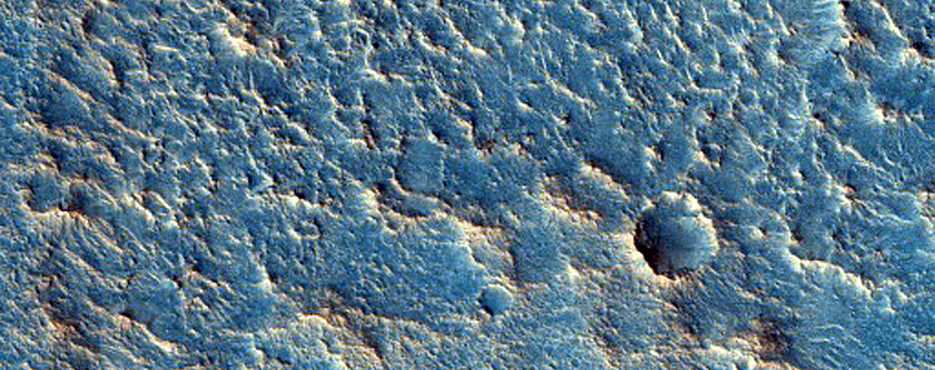 Flow-Like Feature in Chryse Planitia