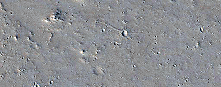 Flow Front near Olympica Fossae