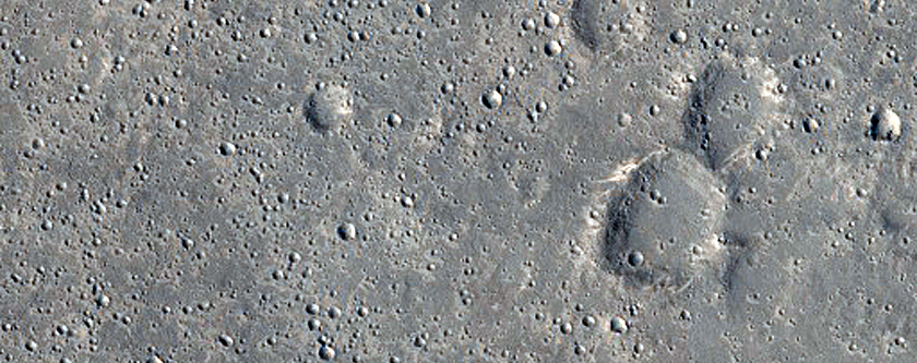 Crater Ray Intersection