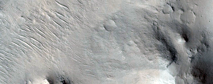 Central Structure in Impact Crater