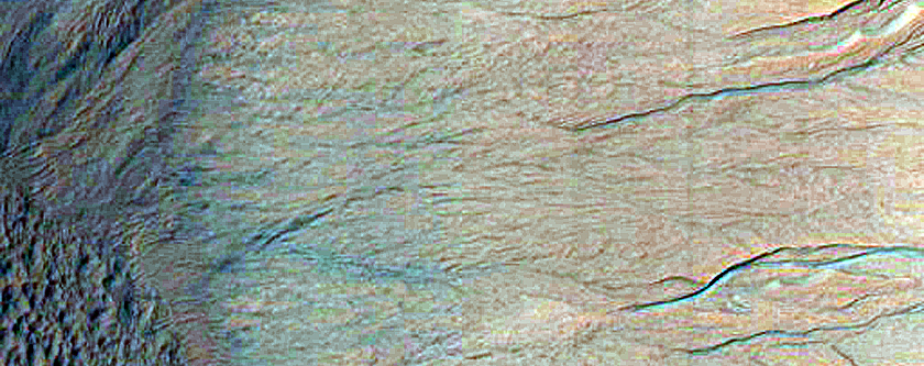 Eastern Rim of Gasa Crater