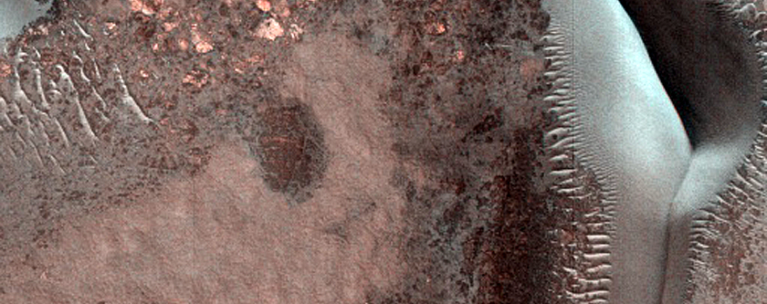 Dune Monitoring in Stokes Crater