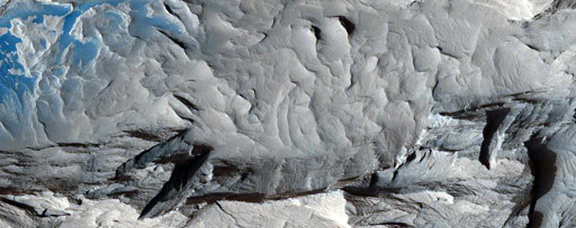 Dark Sediment Mobility in Medusae Fossae Formation