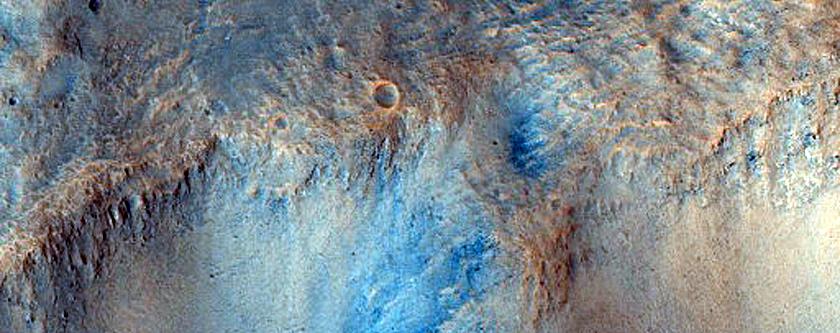 Putative Flows into Isidis Planitia
