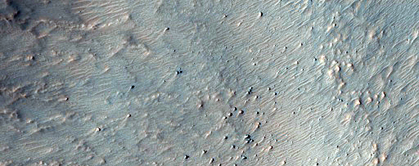 Minerals Exposed on Knob North of Argyre Planitia