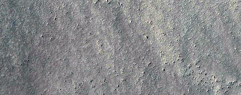 Dune Form in Keeler Crater