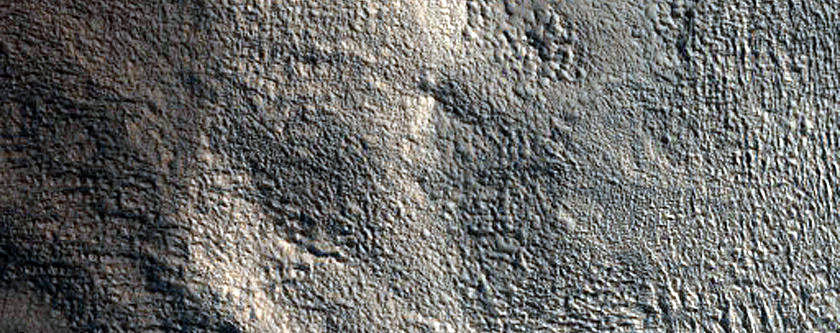 Channel and Impact Crater