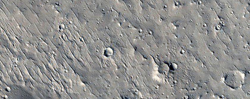 Edge of Olympus Mons Aureole Deposit