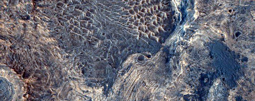 Diverse Materials in Meridiani Planum