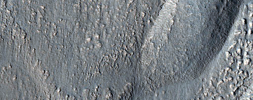 Layered Deposits in Crater