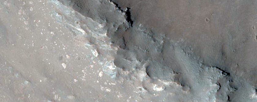 Phyllosilicate Stratigraphy near Coprates Chasma