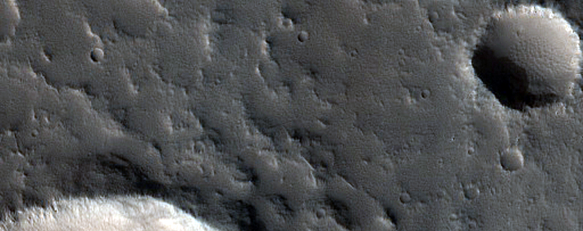 Crater in Northern Mid-Latitudes