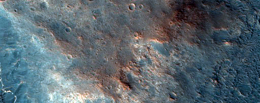 Mafic Knob in Mawrth Vallis