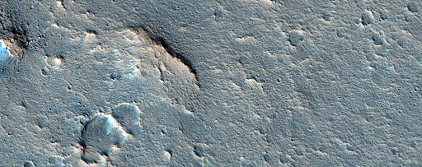 Channel within Lava Flow Emanating from Aromatum Chaos