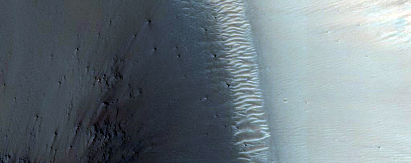 Channel in Southern Gale Crater