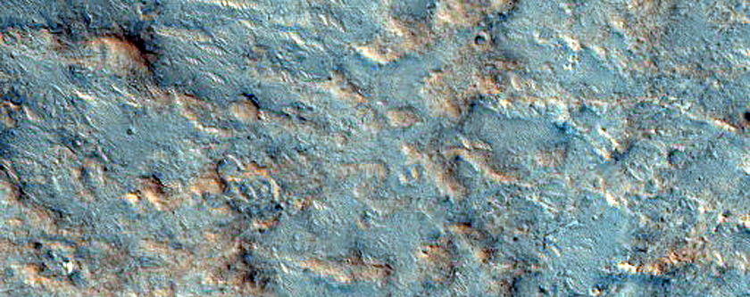 Valleys in Northern Tyrrhena Terra